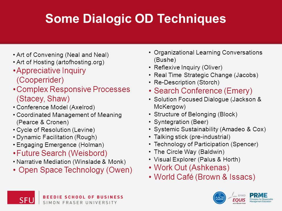 Narrative and Discourse that emerges through dialogic processes.