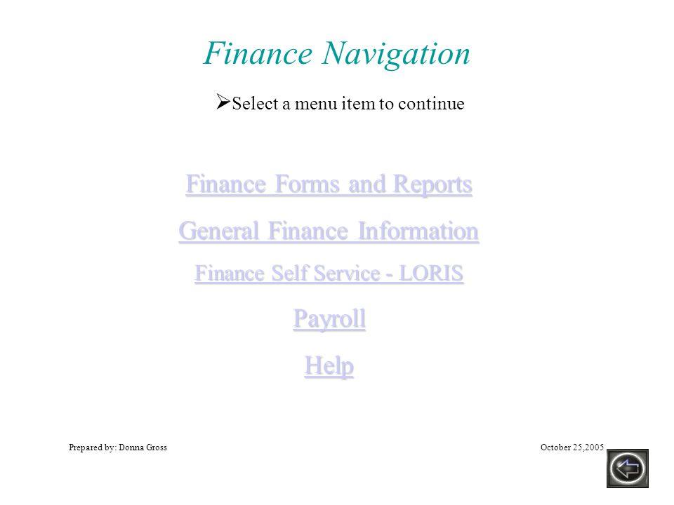 Purchase Order Document FGIBDST to FGITRND WLU Banner 7.x Training: General Information!