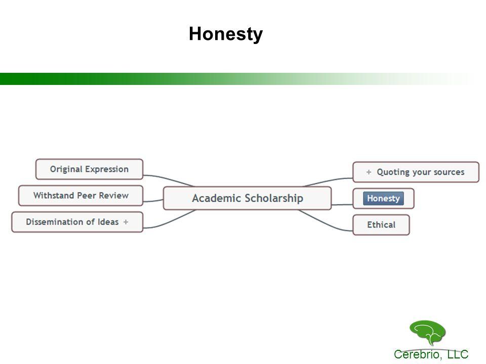 Cerebrio, LLC Honesty
