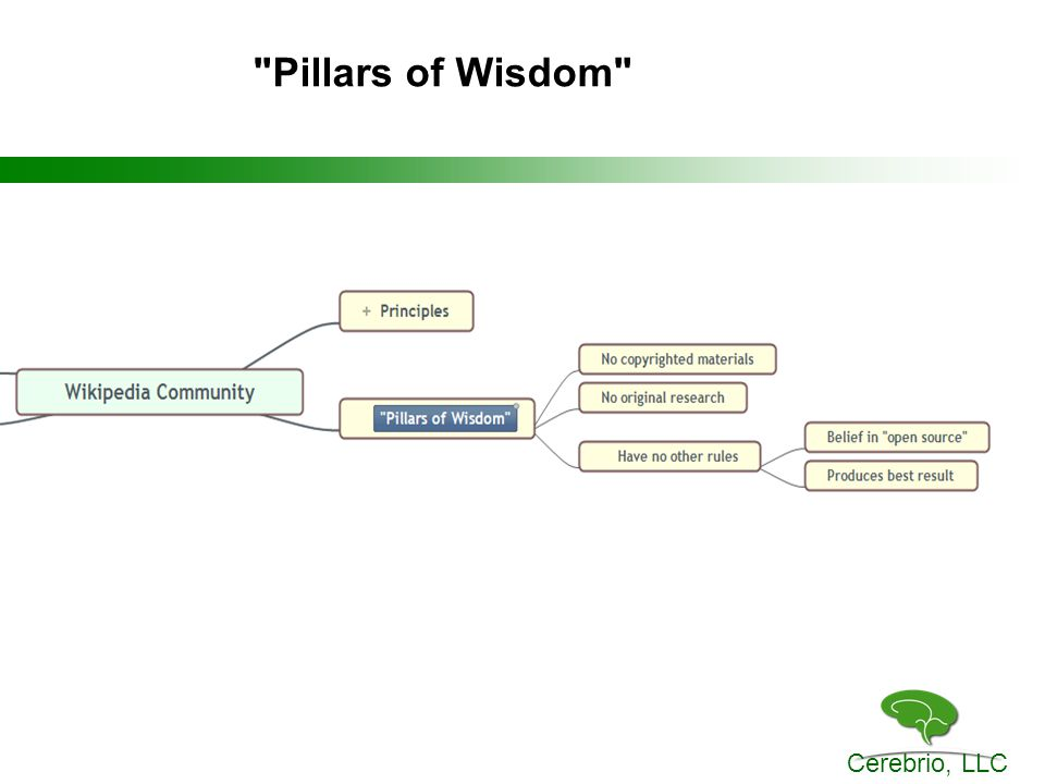 Cerebrio, LLC Pillars of Wisdom