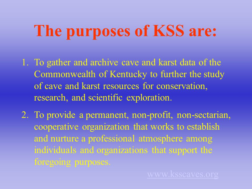 When was KSS formed.