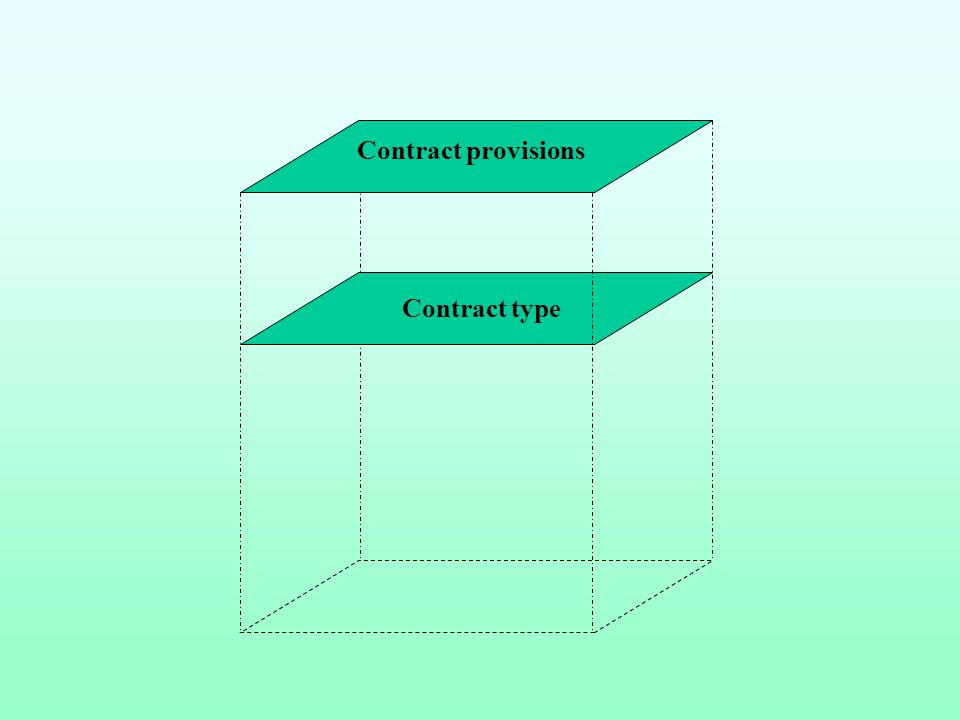 Governance mechanism Contract type Contract provisions