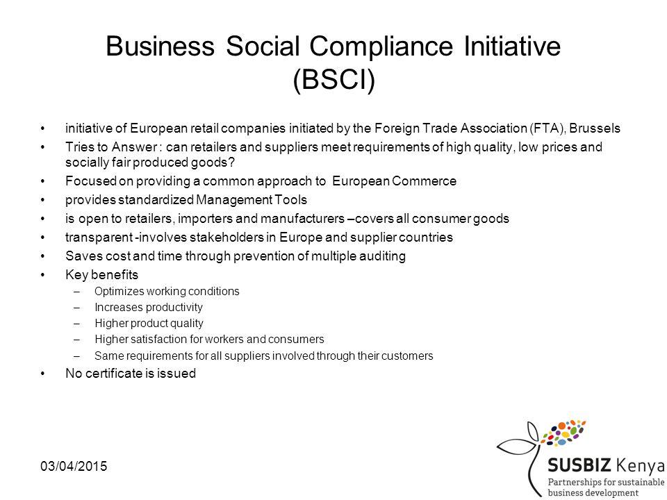03/04/201514 Other CSR frameworks
