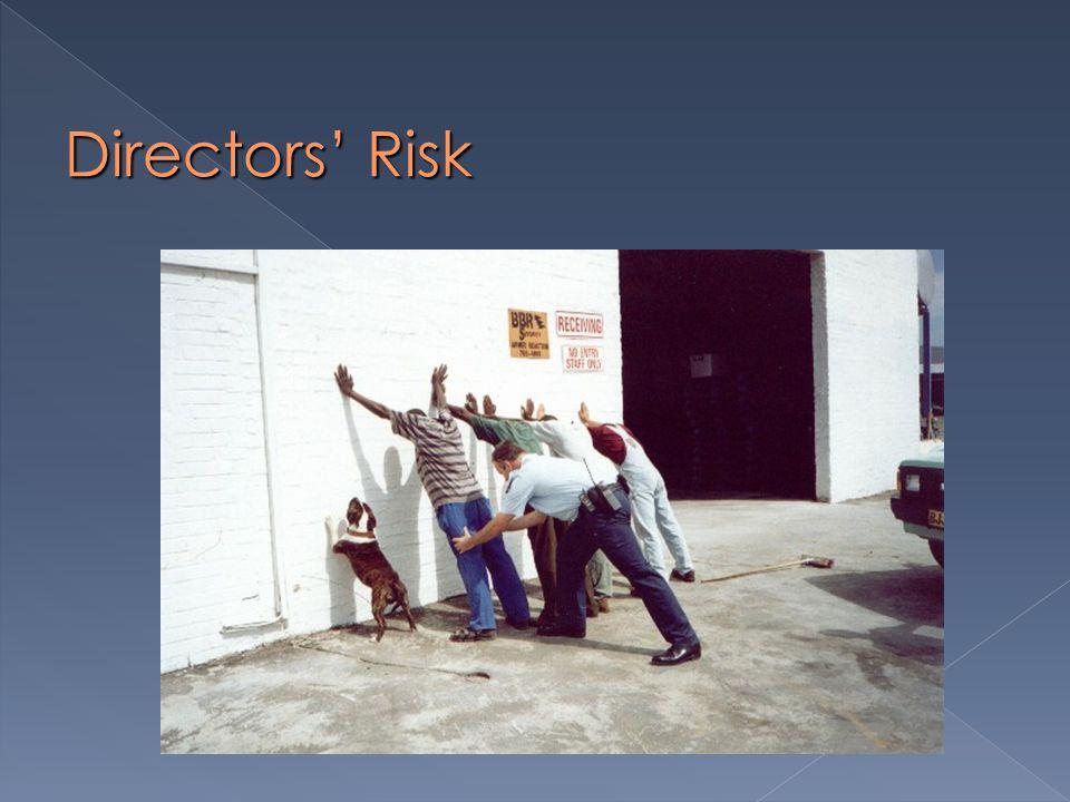 Directors' Risk