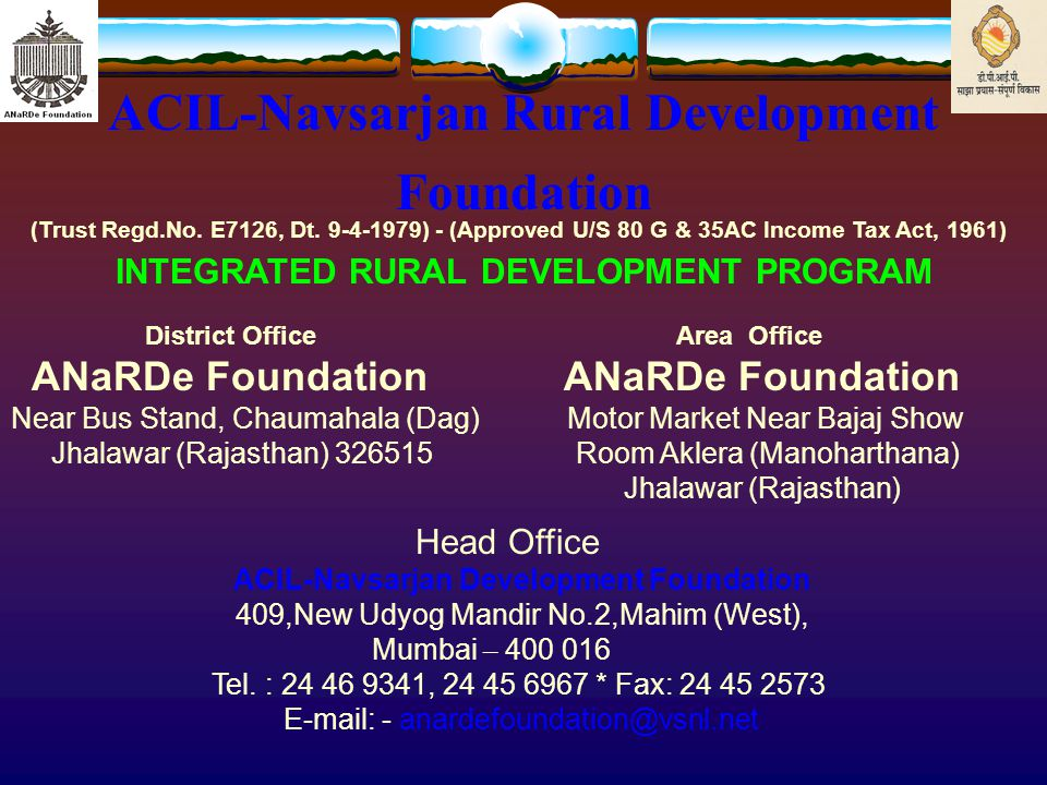 ANaRDe Foundation Welcomes All of You in DPIP Meeting