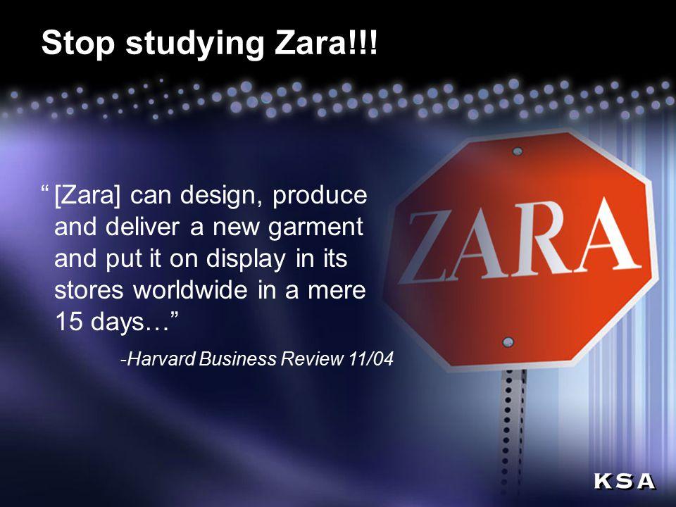 17 Stop studying Zara!!.