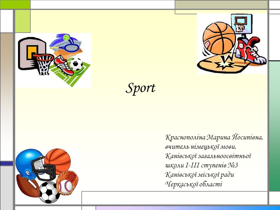 Alles um den Ball herum.Wie heißen die Sportarten.