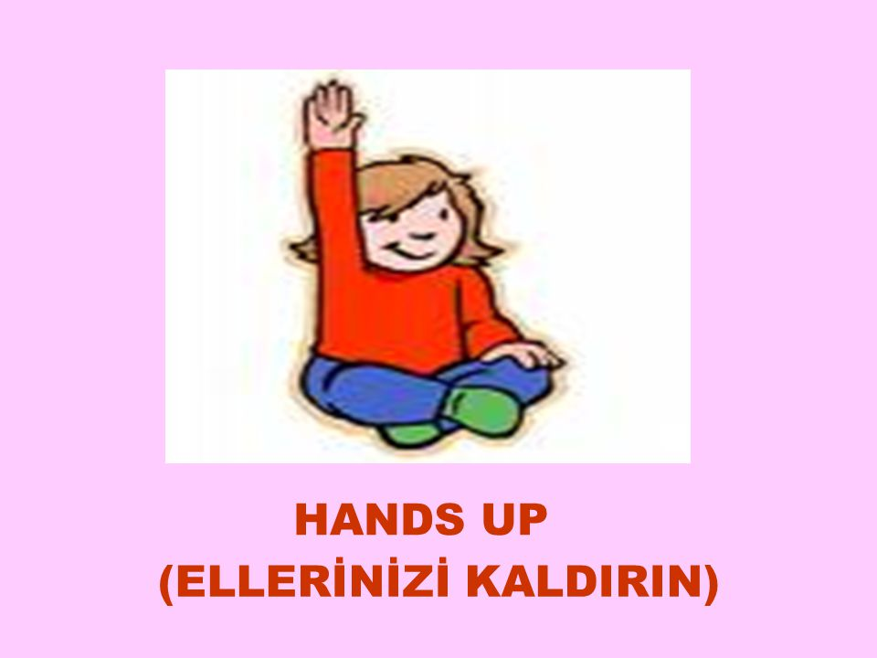 HANDS UP (ELLERİNİZİ KALDIRIN) 