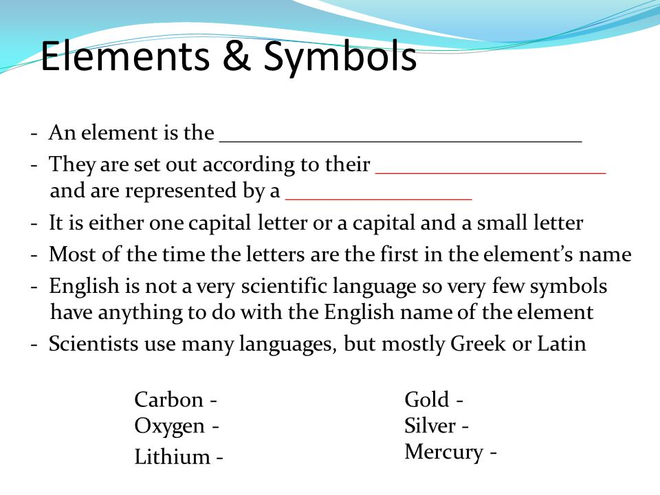 2 elements - Periodic Table Of Elements Greek Names