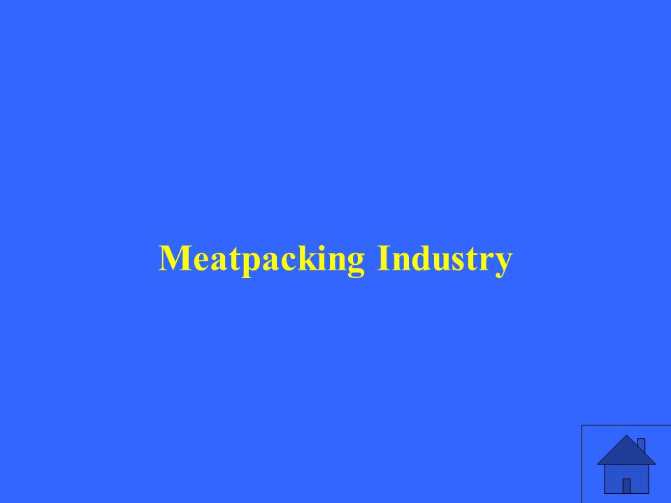 Meatpacking Industry