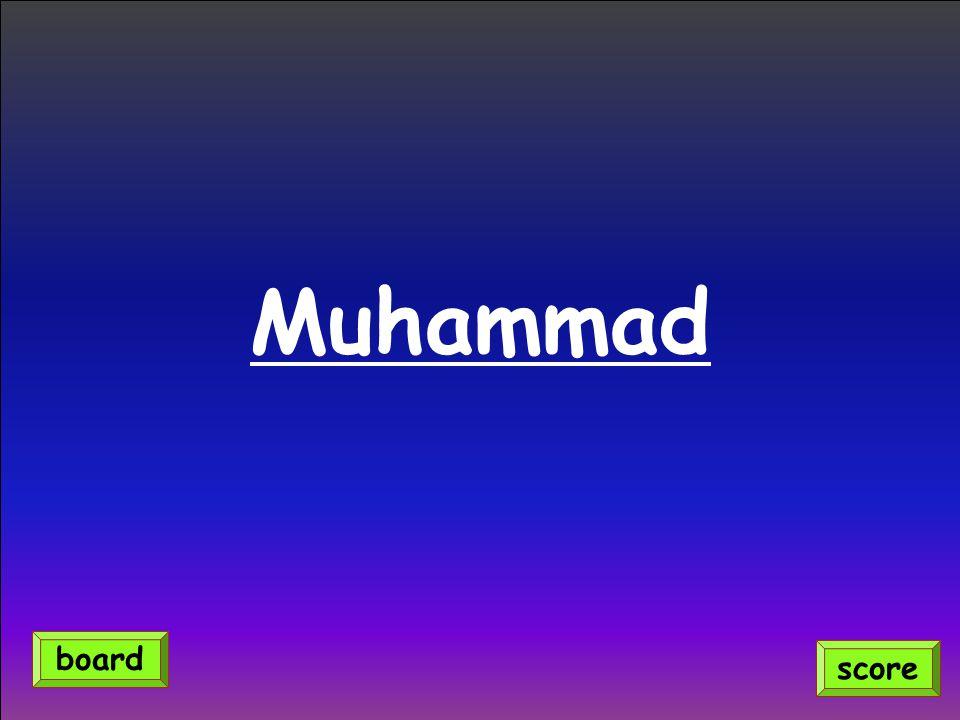 Muhammad score board