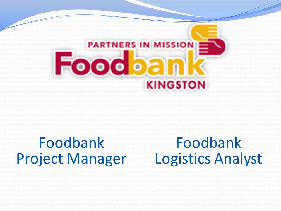 Let's Can Hunger Project Manager