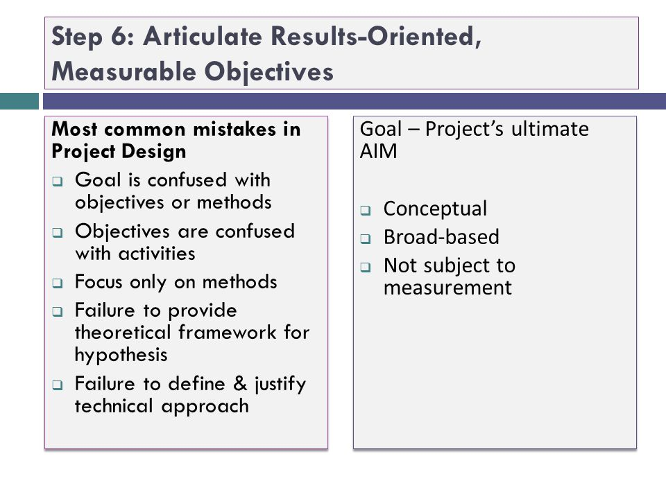 "Step 5: Clearly Align Project Goal & Objectives with RFA/RFP Purpose, Goal, Results, & Deliverables "" The purpose of the Small Health Care Provider Qu"