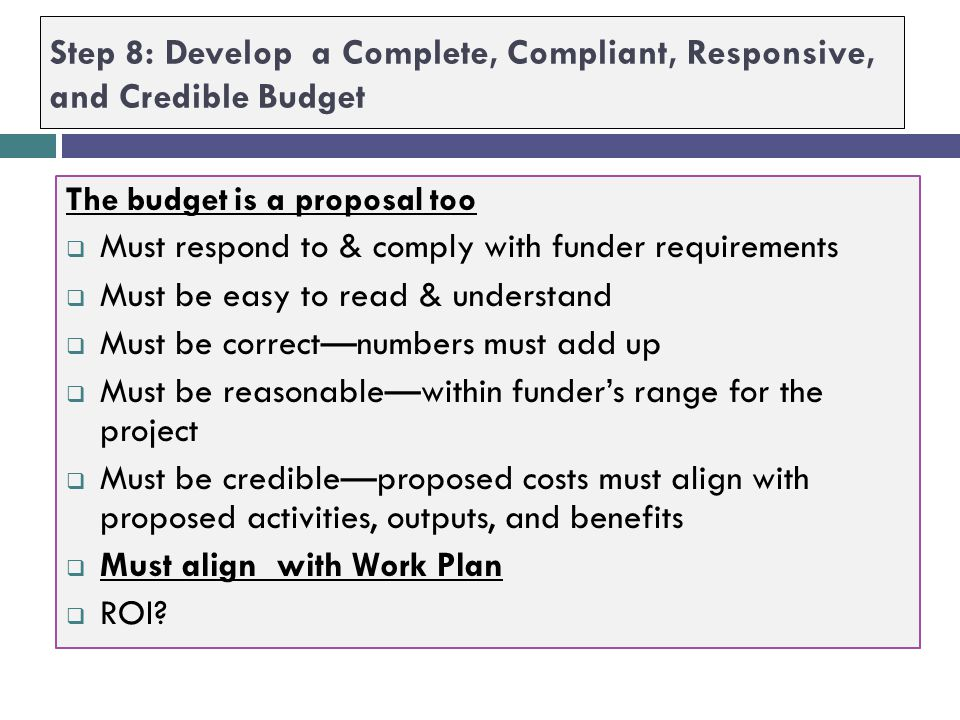 Step 7: Use Measurable Objectives to Develop Plan of Work  For each SMARRRT Objective answer [in some logical order] the following (also see Project