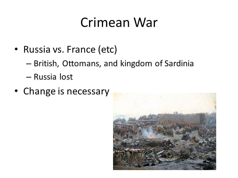 Crimean War Russia vs.