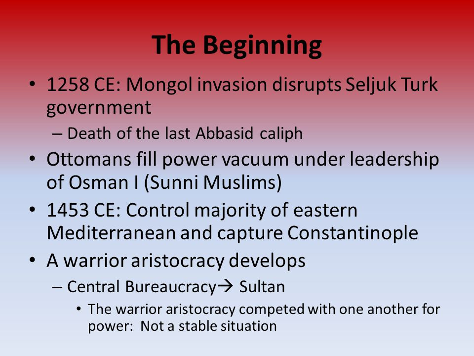As new social and political elites changed, they also restructured new ethnic, racial and gender hierarchies – The power of existing political and economic elites (such as the zarnidars in the Mughal Empire, the nobility in Europe or the daimyo in Japan) fluctuated as they confronted new challenges to their ability to affect the policies of the increasingly powerful monarchs and leaders