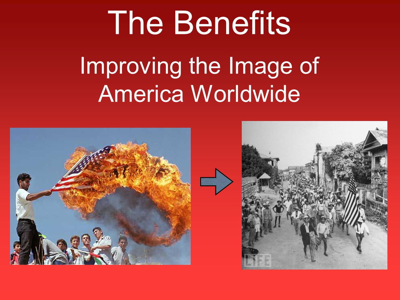 The Benefits Improving the Image of America Worldwide