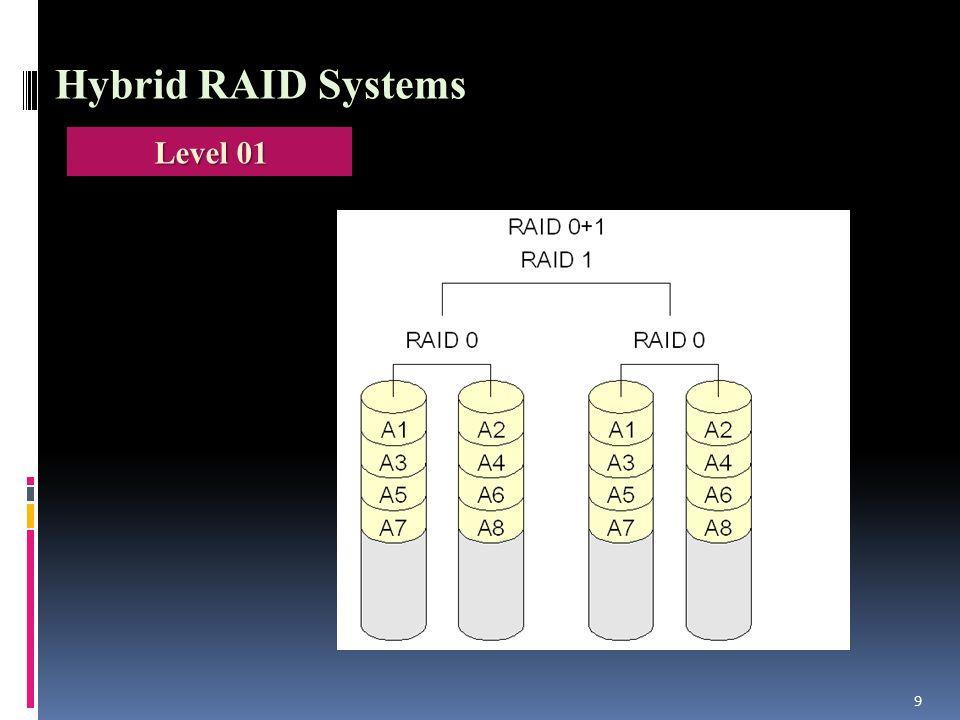 9 Hybrid RAID Systems Level 01