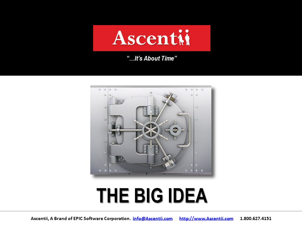 Ascentii, A Brand of EPIC Software Corporation.