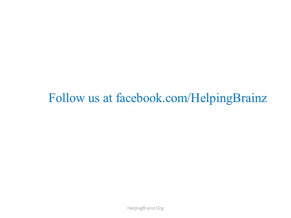 Our Anthem for them HelpingBrainz.Org