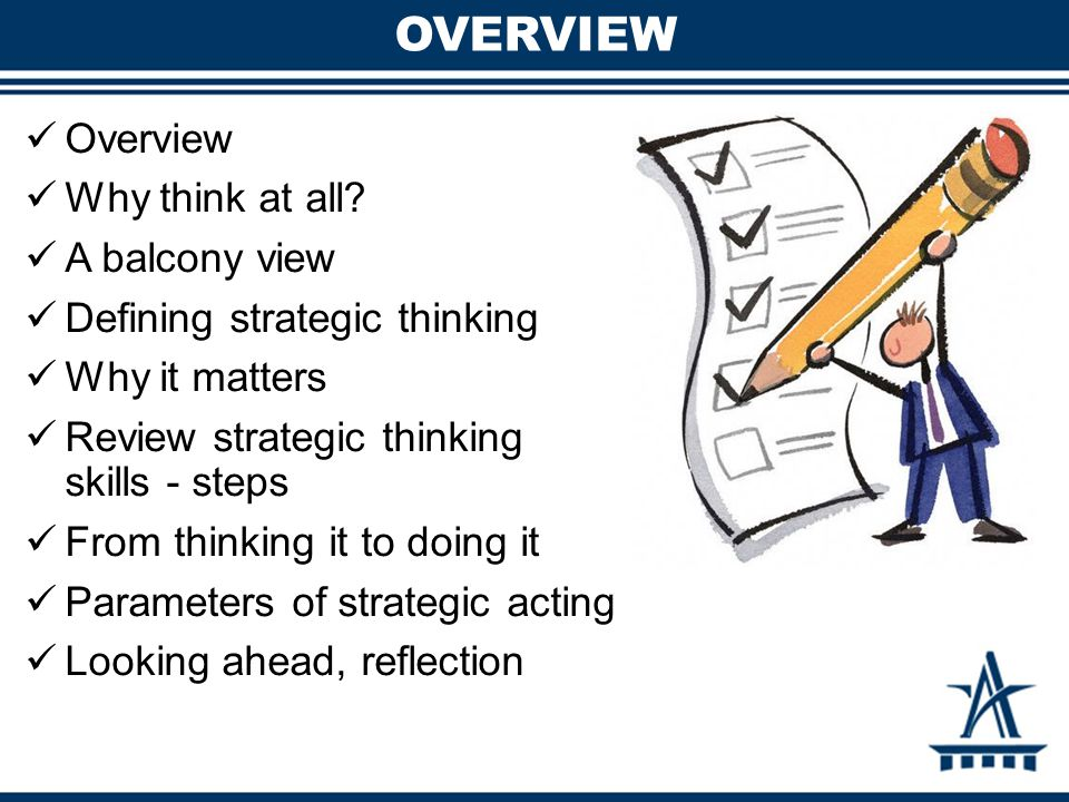 TAKE 10: TIME TO THINK When and where do you find the time to engage in focused thinking.