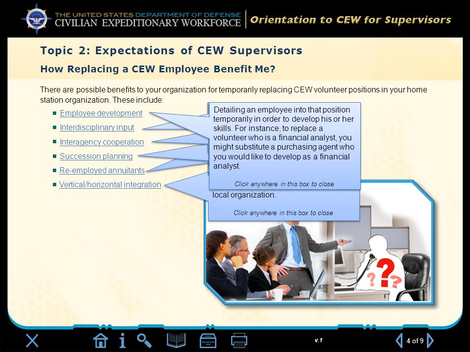 v.1 How Replacing a CEW Employee Benefit Me.