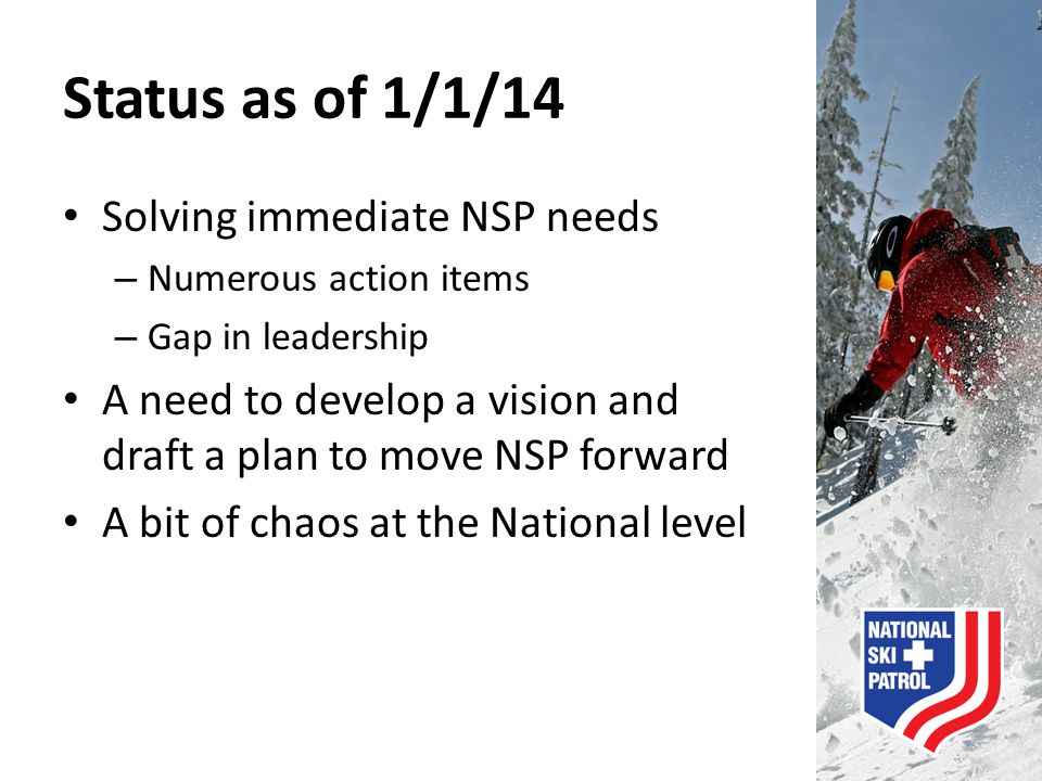 NSP in the Future  Relevancy  Partnership  Resources  Skilled Volunteerism  Mountain Host  Humanitarian Cause
