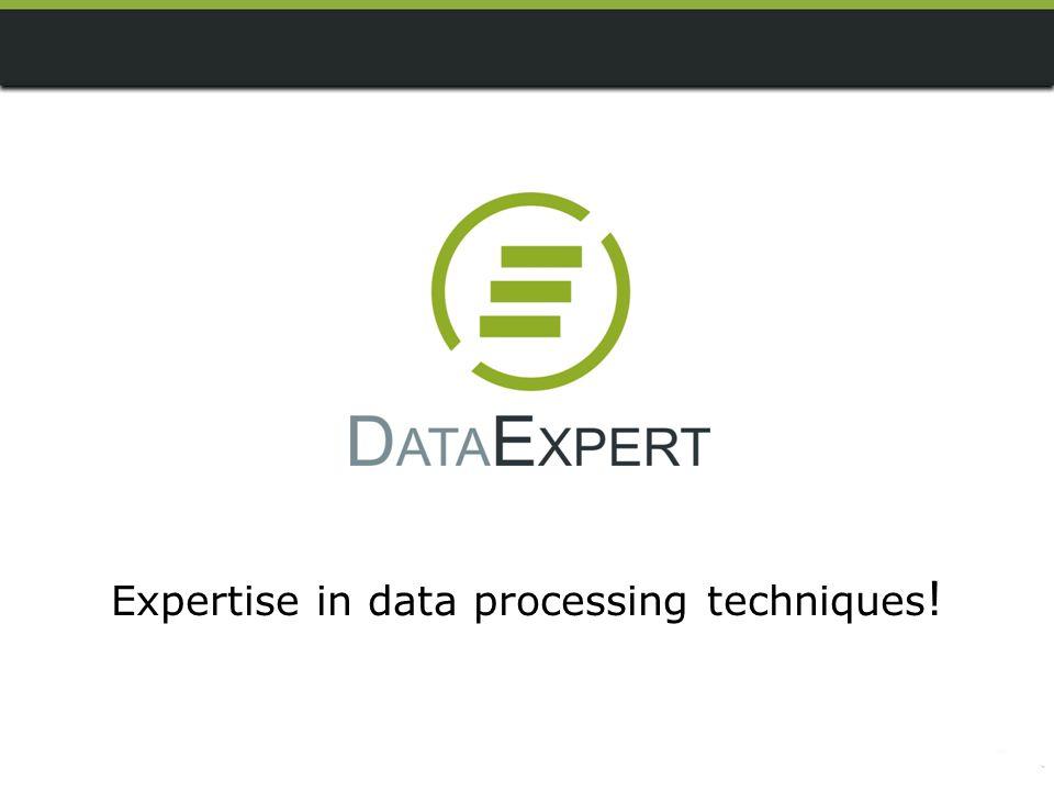DataExpert can do...
