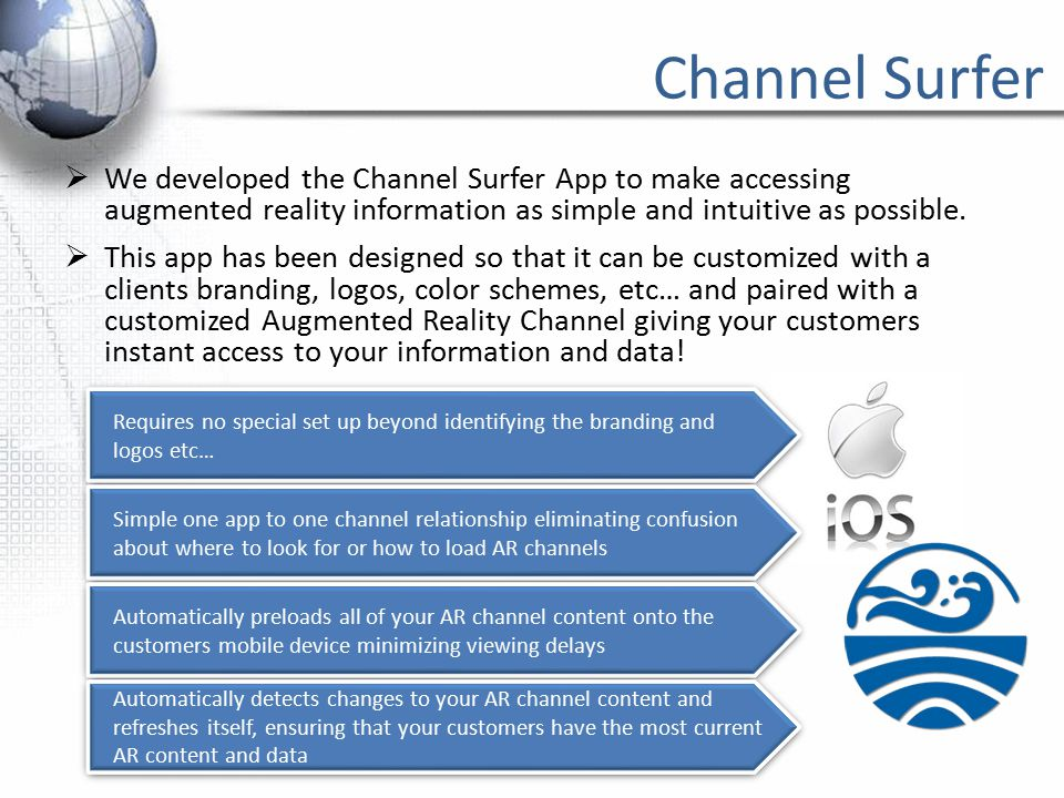 Channel Development Services  The Beach Consulting Group is a full service Augmented Reality provider.