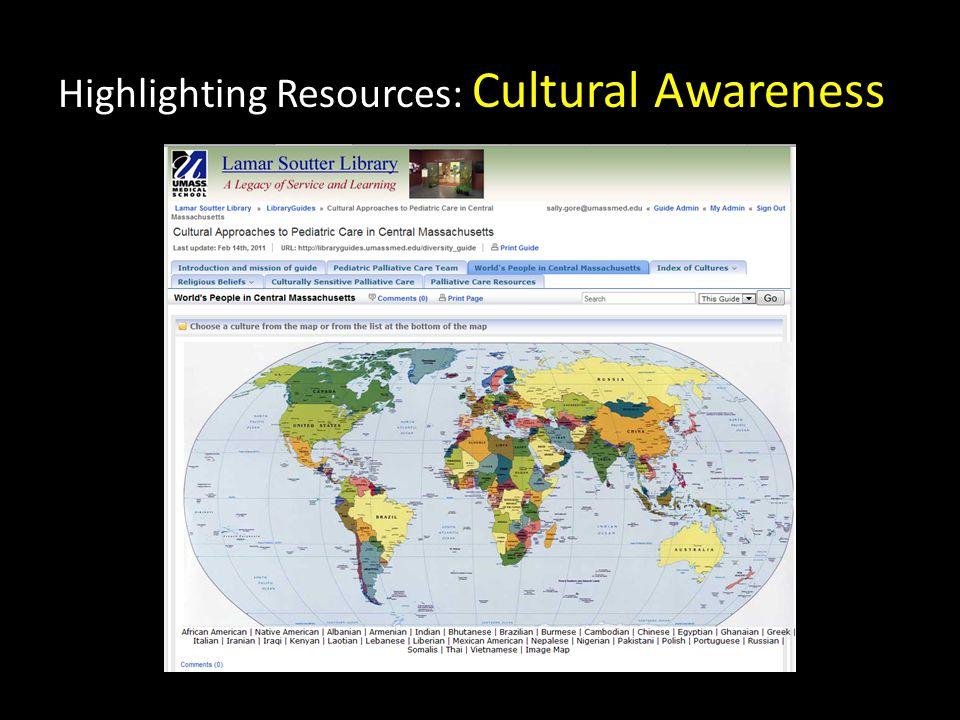 Highlighting Resources: Cultural Awareness