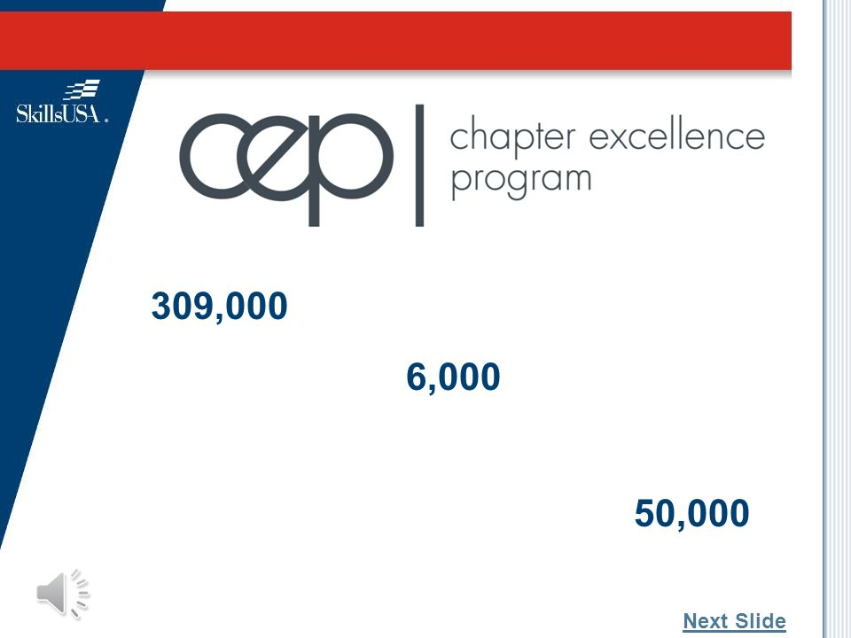 How can we deliver the framework to all students? Two new programs: Chapter Excellence Program (CEP) Career Readiness Curriculum (CRC) 30 Next Slide