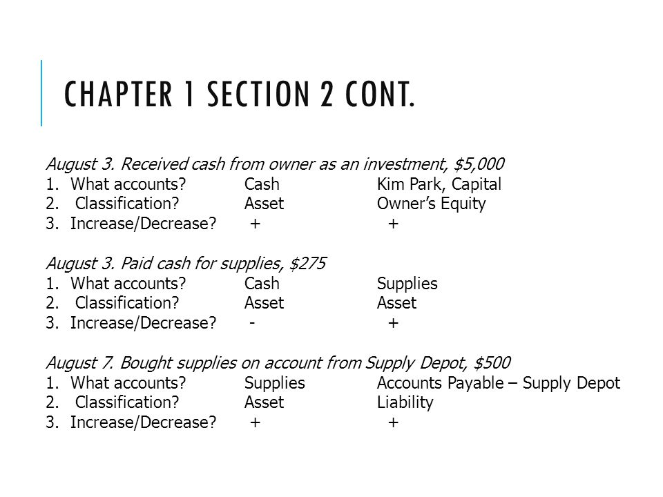 CHAPTER 1 SECTION 2 CONT.August 3.