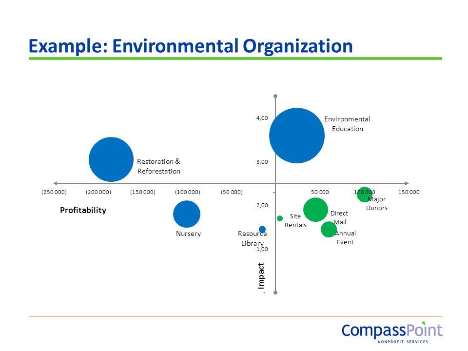 Example: Environmental Organization