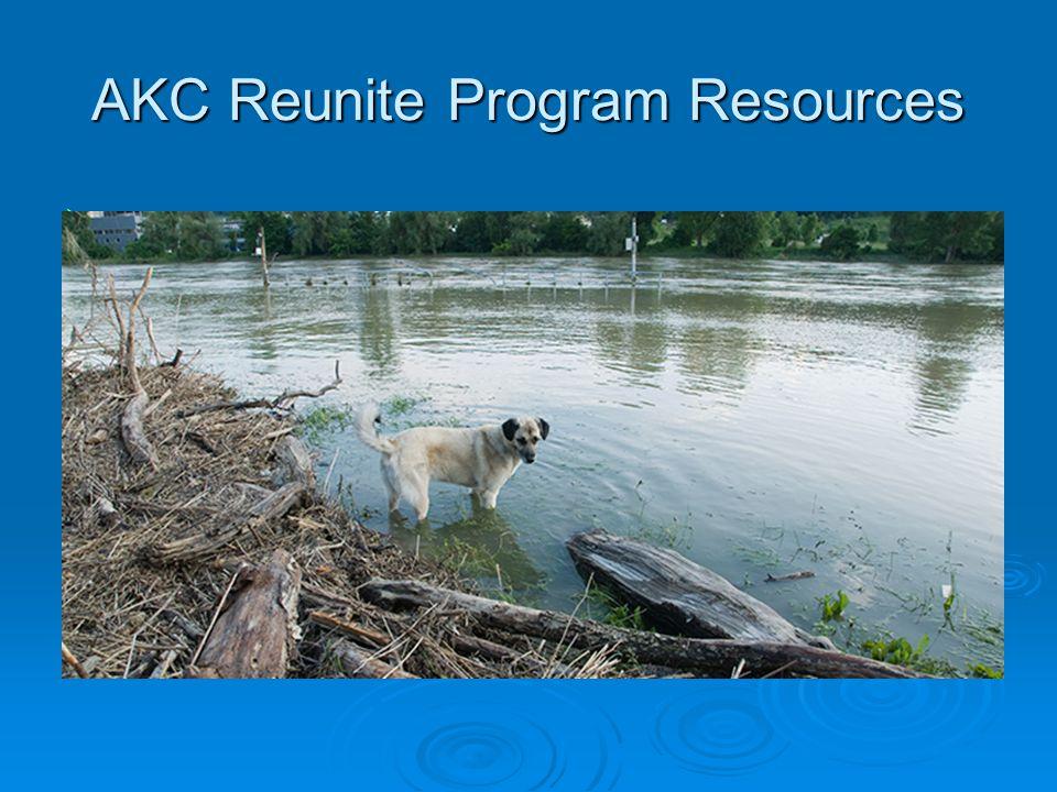 AKC Reunite Program Resources 