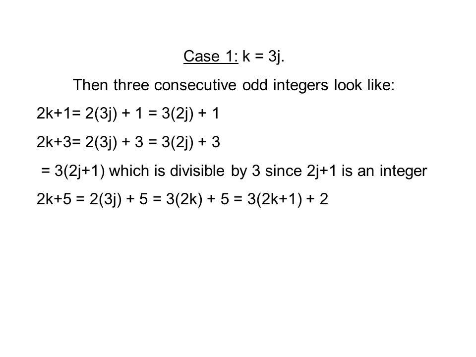 Case 1: k = 3j.
