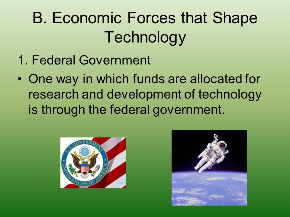 B.Economic Forces that Shape Technology 2.