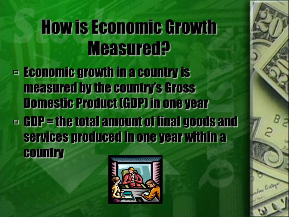 How is Economic Growth Measured.