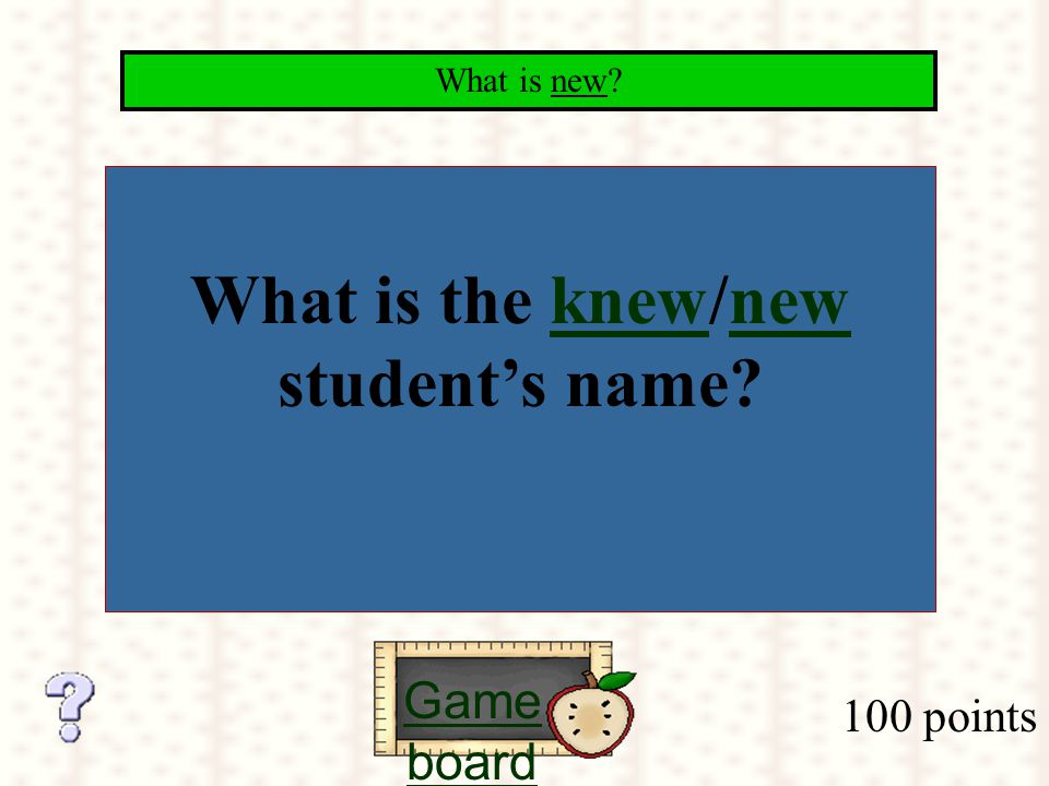 Fantastic! How do you know what theknow correct answer should be?