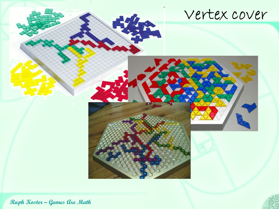 Raph Koster – Games Are Math Vertex cover