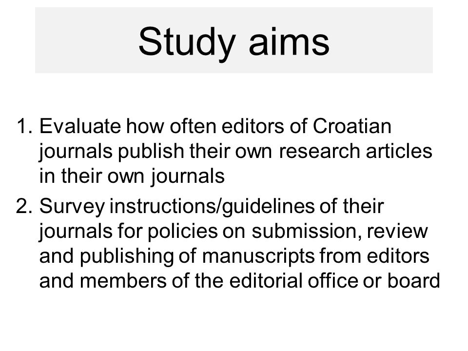 Editors from scholarly and association or institution journals publish not only editorial material but also research or review articles in their own journals.