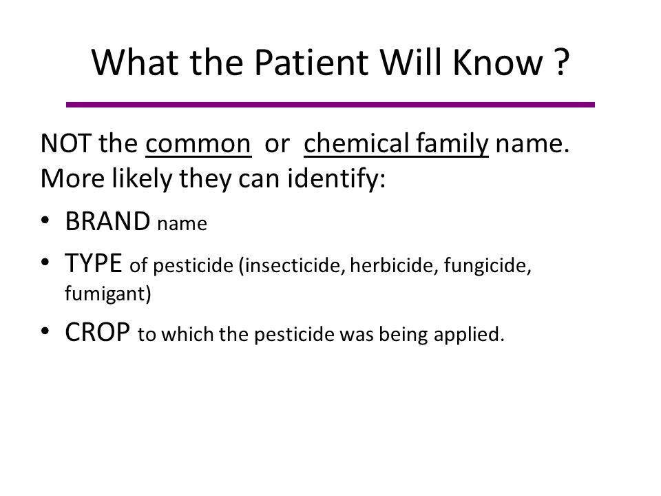 Pesticide Identification Resources Poison Control (800) 222-1222 (TDD) 1(800) 572-0638 Google Direx Pesticide Websites: – PAN http://www.pesticideinfo.org/ http://www.pesticideinfo.org/ – CDMS http://www.cdms.net/LabelsMsds/LMDefault.aspx http://www.cdms.net/LabelsMsds/LMDefault.aspx – NPIC http://npic.orst.edu/npicfact.htm http://npic.orst.edu/npicfact.htm
