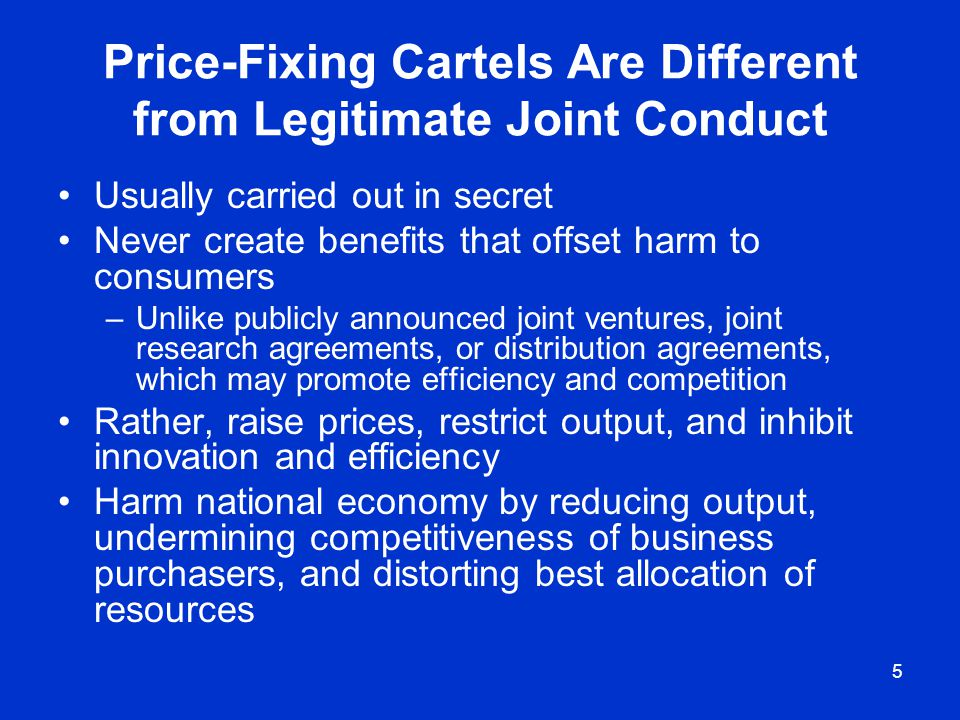 6 Why Do Price-Fixing Cartels Form.