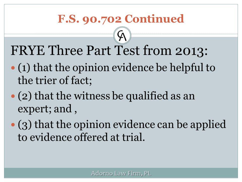 Adorno Law Firm, PL F.S.