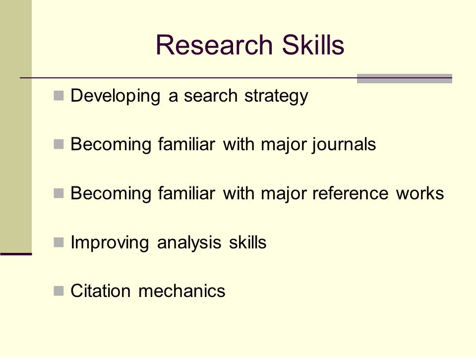 Developing a Search Strategy Topic Map Using Databases General Databases Subject specific databases Google Scholar