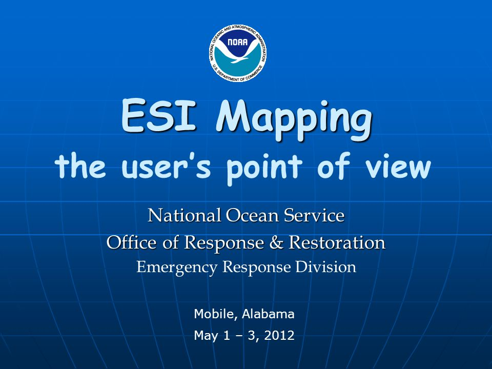 PDFs and hard copy maps are still the most frequently used ESI product.