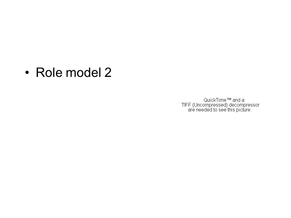 Role model 2