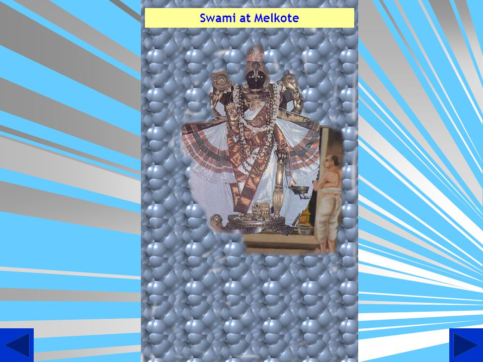 Artistic view of Swami Desikan sitting in lap of Sriman Narayana