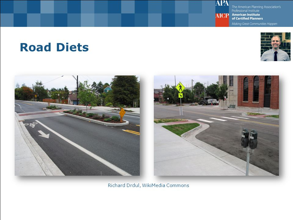 Road Diets Richard Drdul, WikiMedia Commons