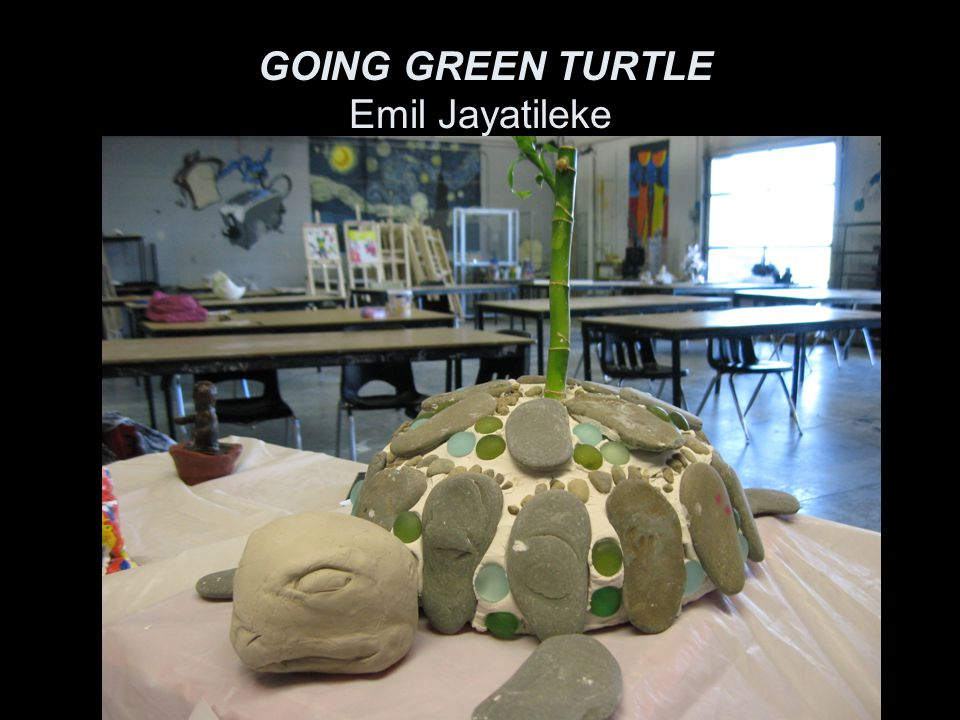My sculpture will focus on Mississauga going green.