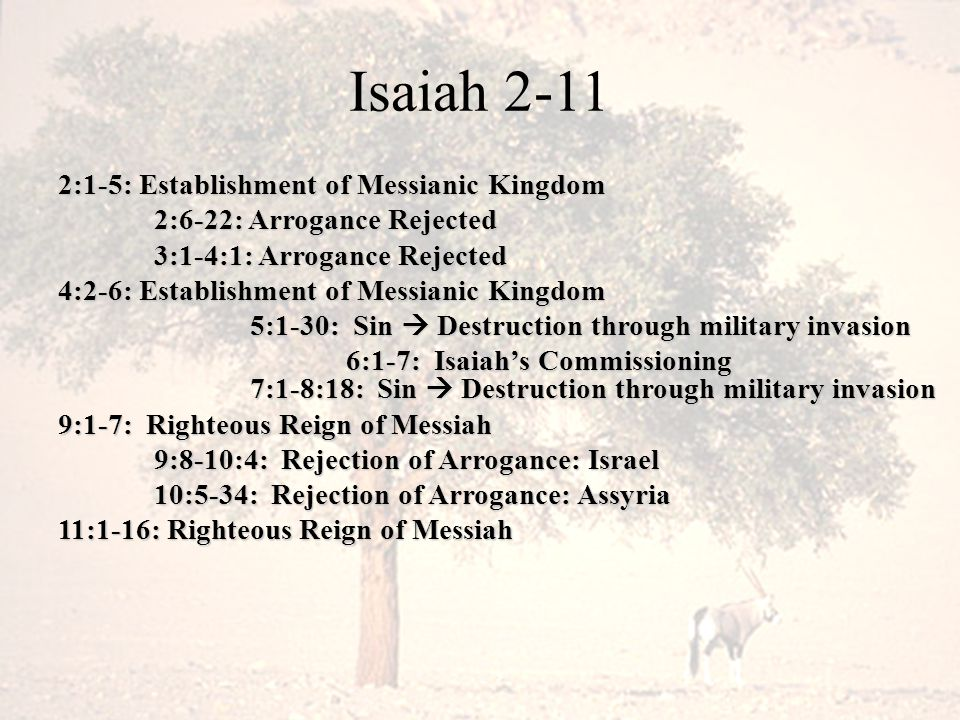 V17: Crossroads of Isaiah 7 He will cause to come, the LORD, upon you and upon your people and upon the house of your father days which have not come since the day of the turning of Ephraim from Judah.